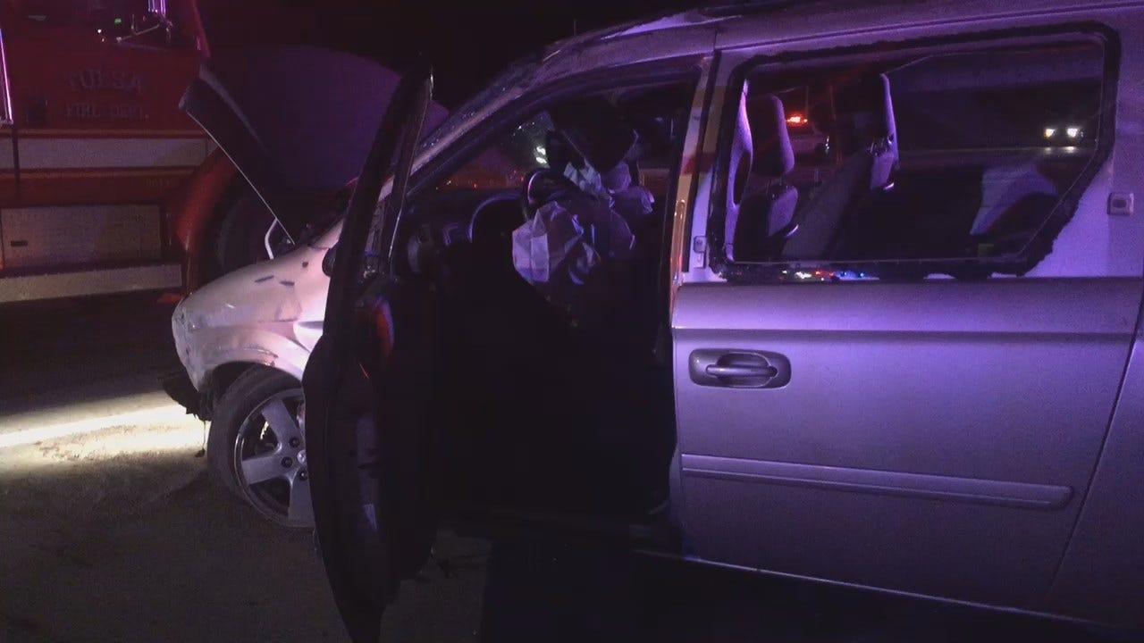 Gary Kruse: TU Students Escape Serious Injury In Minivan Wreck