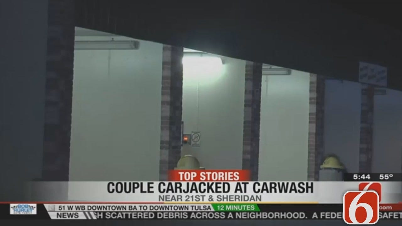 Dave Davis Reports Couple Carjacked At Tulsa Car Wash