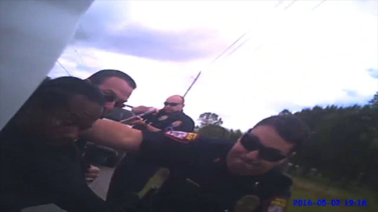 Bodycam Footage Shows Owasso Officer Being Hit By Pickup