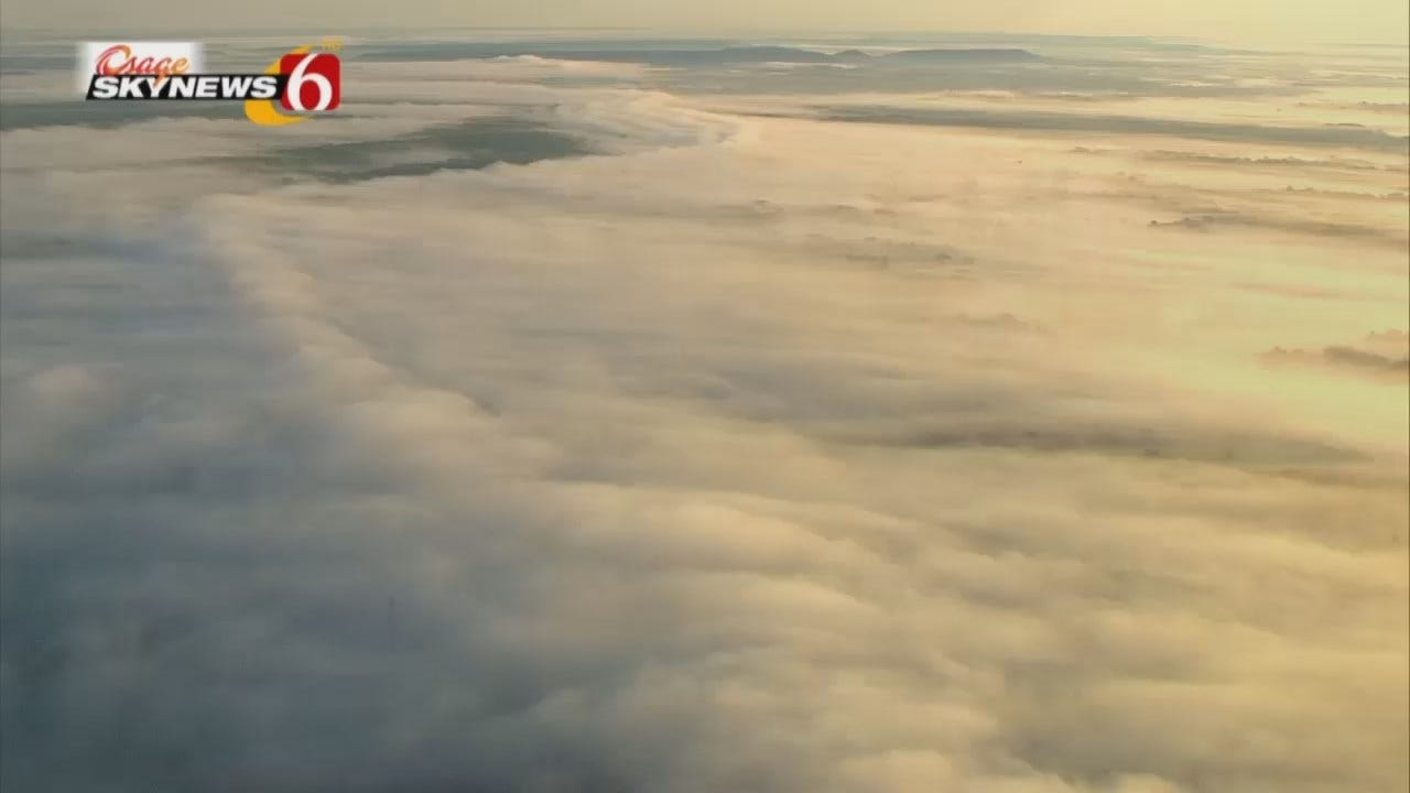 Morning Fog As Seen From Osage SkyNews 6 HD