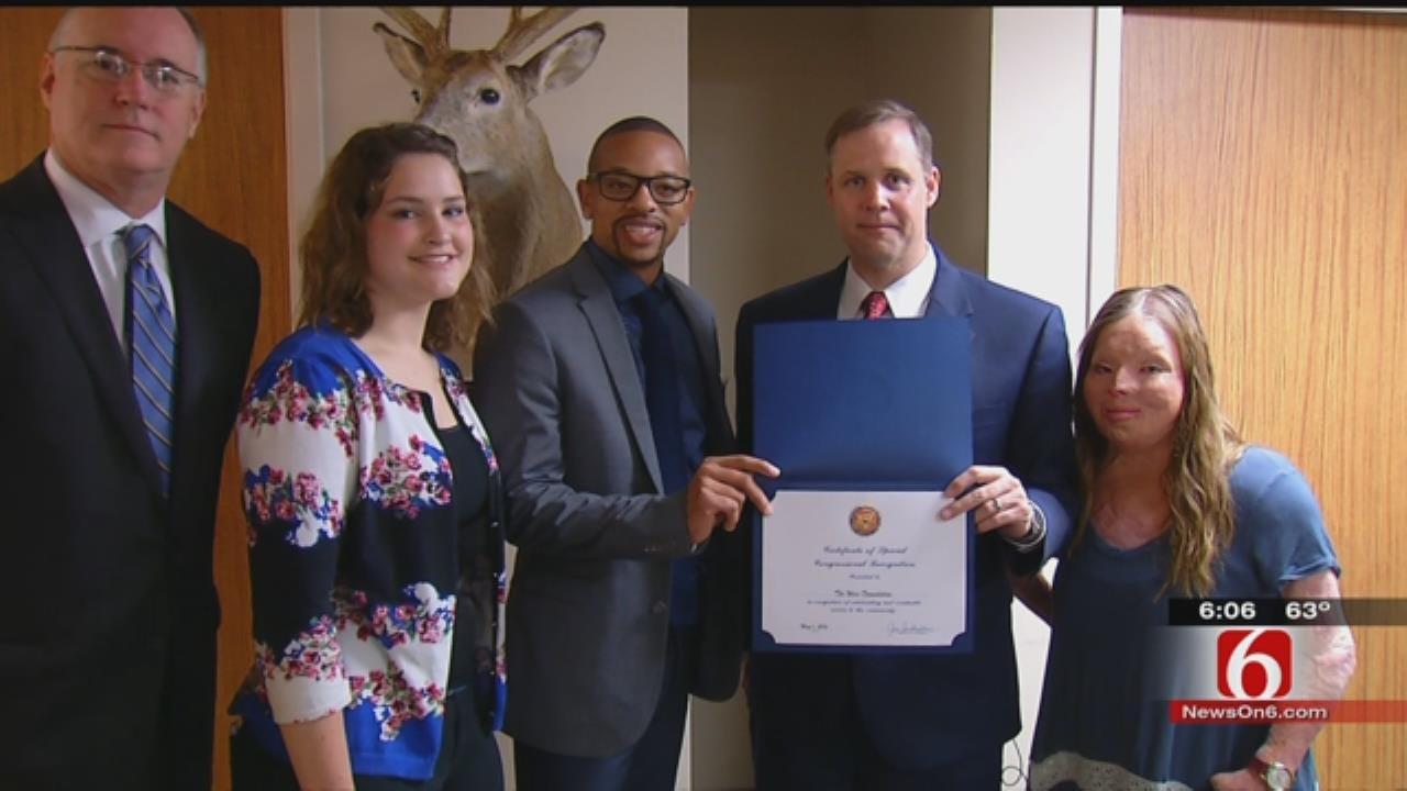 Congressman Recognizes Tulsa Non-Profit For Work With Burn Victims