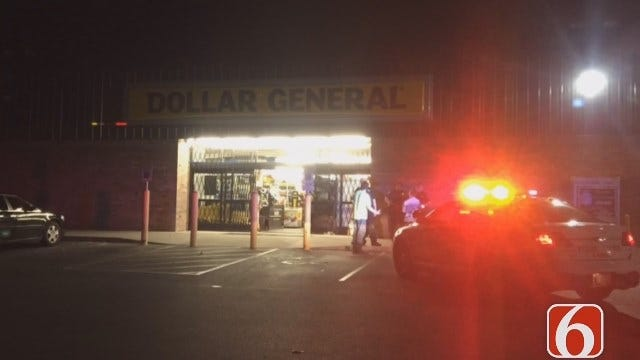 Tess Maune Reports From An Attempted Armed Robbery At Tulsa Dollar General