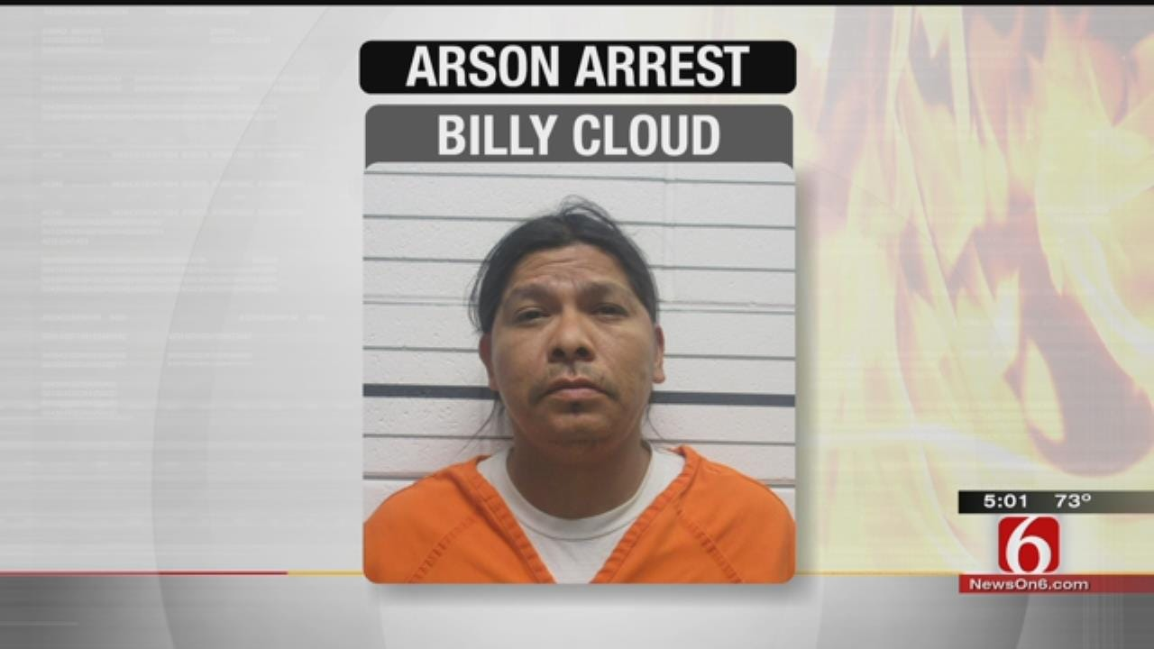 Suspect In 2012 Creek County Wildfires Is Arrested