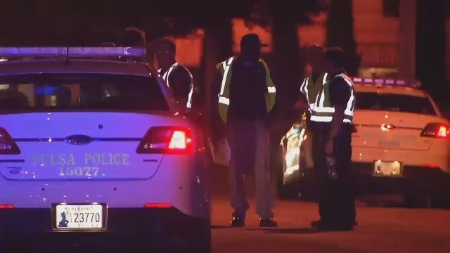 WEB EXTRA: Video From Scene Of Fatal Tulsa Auto-Pedestrian Accident
