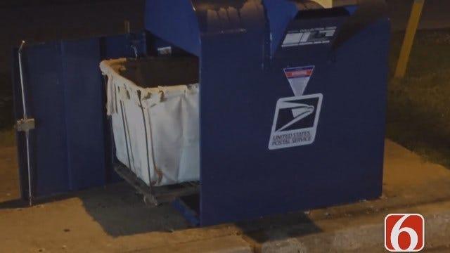 News On 6 Photojournalist Gary Kruse Says Tulsa Post Office Mail Box Burglarized