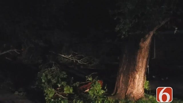 Dave Davis Reports On Checotah Storm Damage