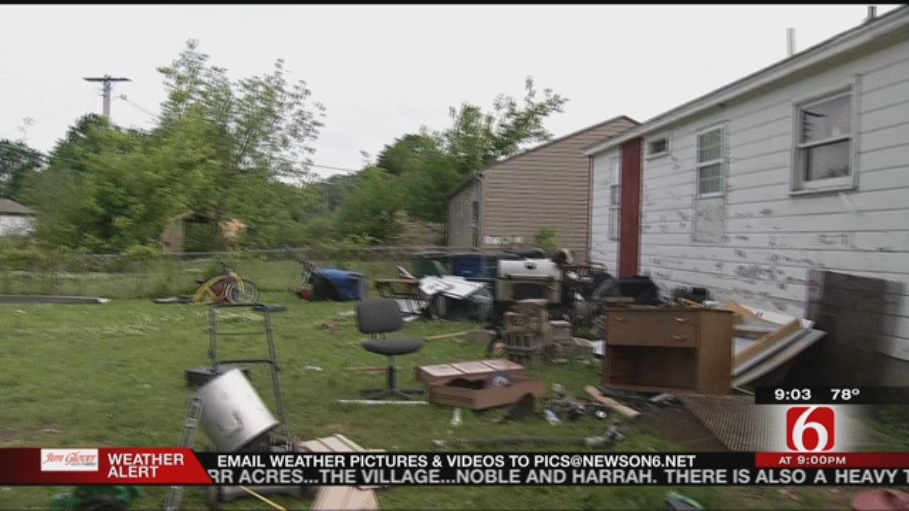 North Tulsa Residents Prepare For Severe Weather While Continuing Repairs On Existing Storm Damage