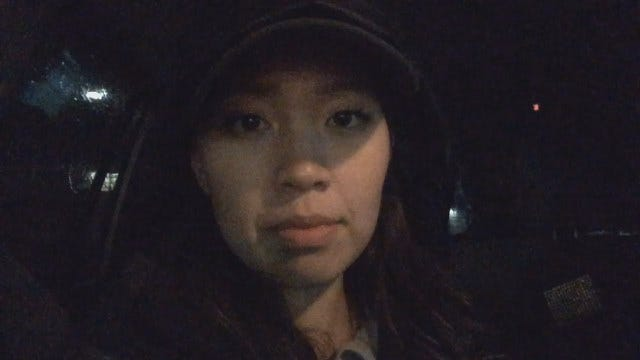 News On 6 Reporter Annie Chang On The Scene Of Tulsa Storm Damage