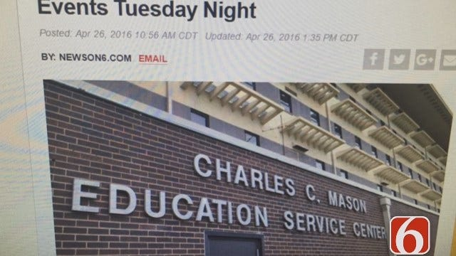 Craig Day Reports On Green Country Schools Canceling Evening Activities