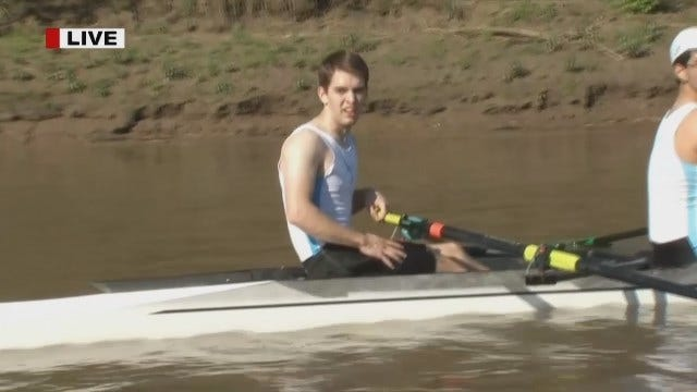 Tony Russell Reports From Tulsa Youth Rowing Route 66 Regatta