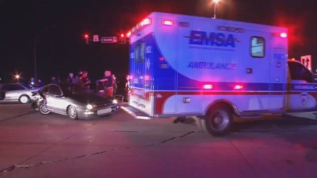 WEB EXTRA: Video From Crash Scene At End Of Tulsa Police Chase