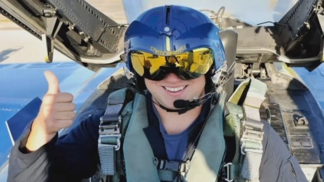 Blue Angels Give Blind Man A Once-In-A-Lifetime Experience