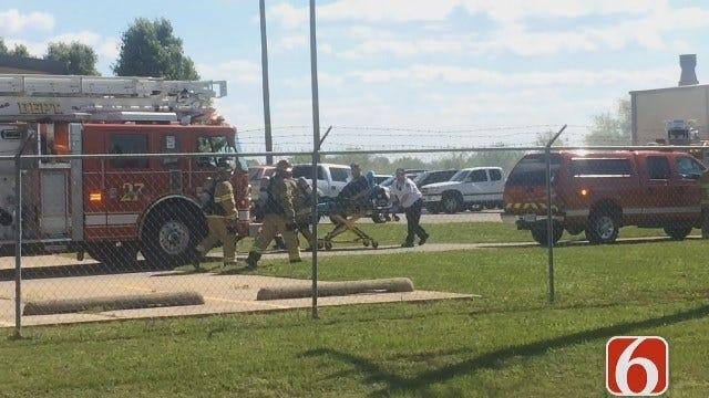 Katiera Winfrey On East Tulsa Industrial Fire