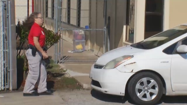WEB EXTRA: Video From Scene Outside East Tulsa Daycare