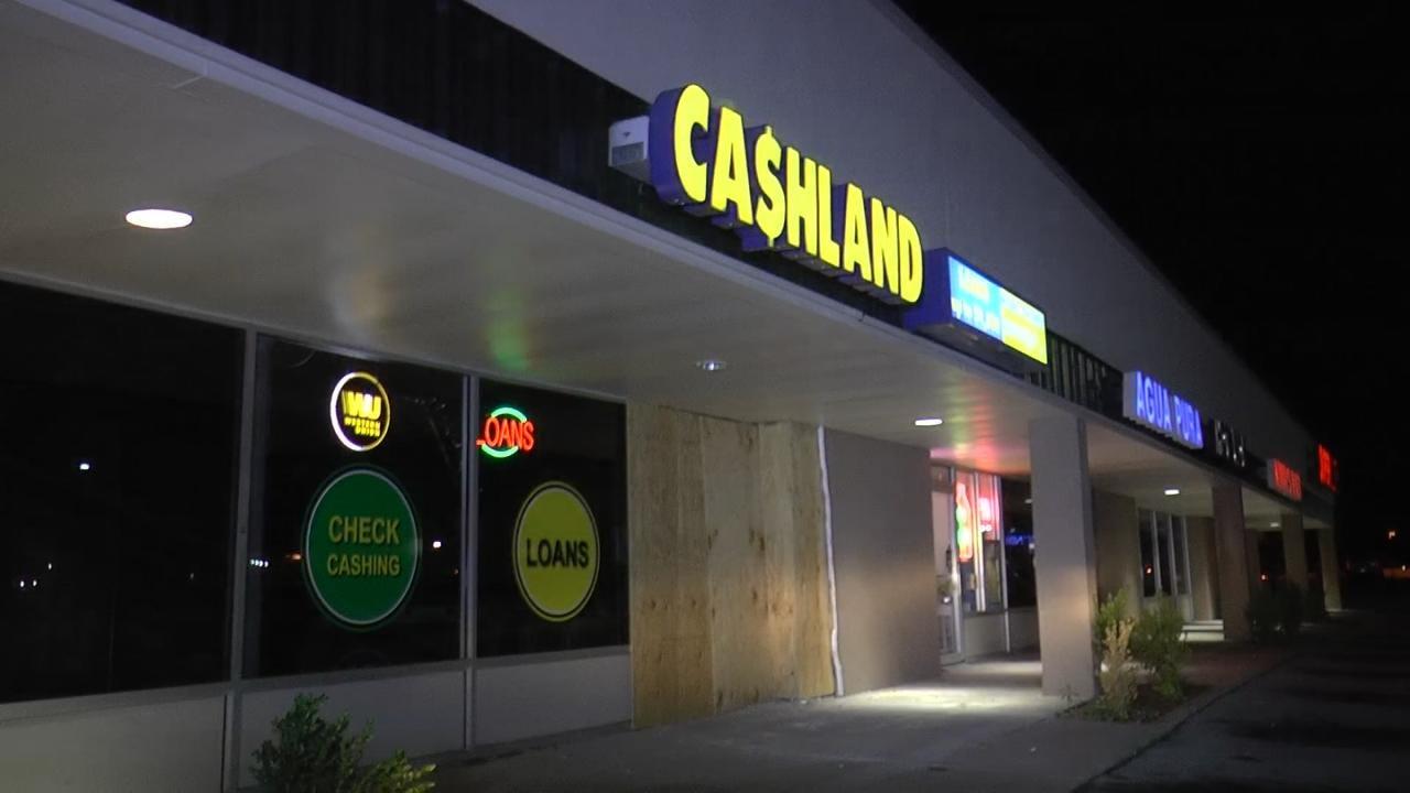 WEB EXTRA: Video From Scene Of Cashland Business Crash