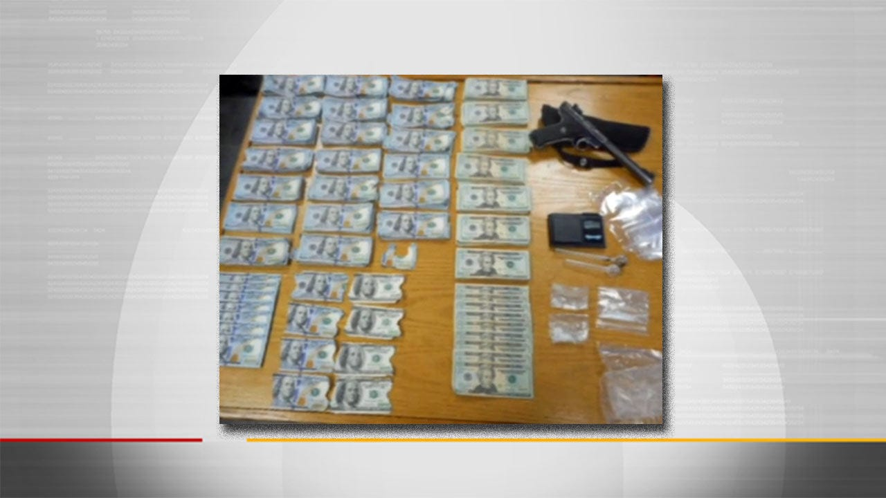 Lori Fullbright Reports McAlester Police Find Meth, Cash At Traffic Stop