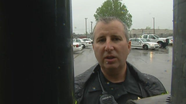 WEB EXTRA: Tulsa Police Officer Darren Shipley Talks About Vandalism, Arrest