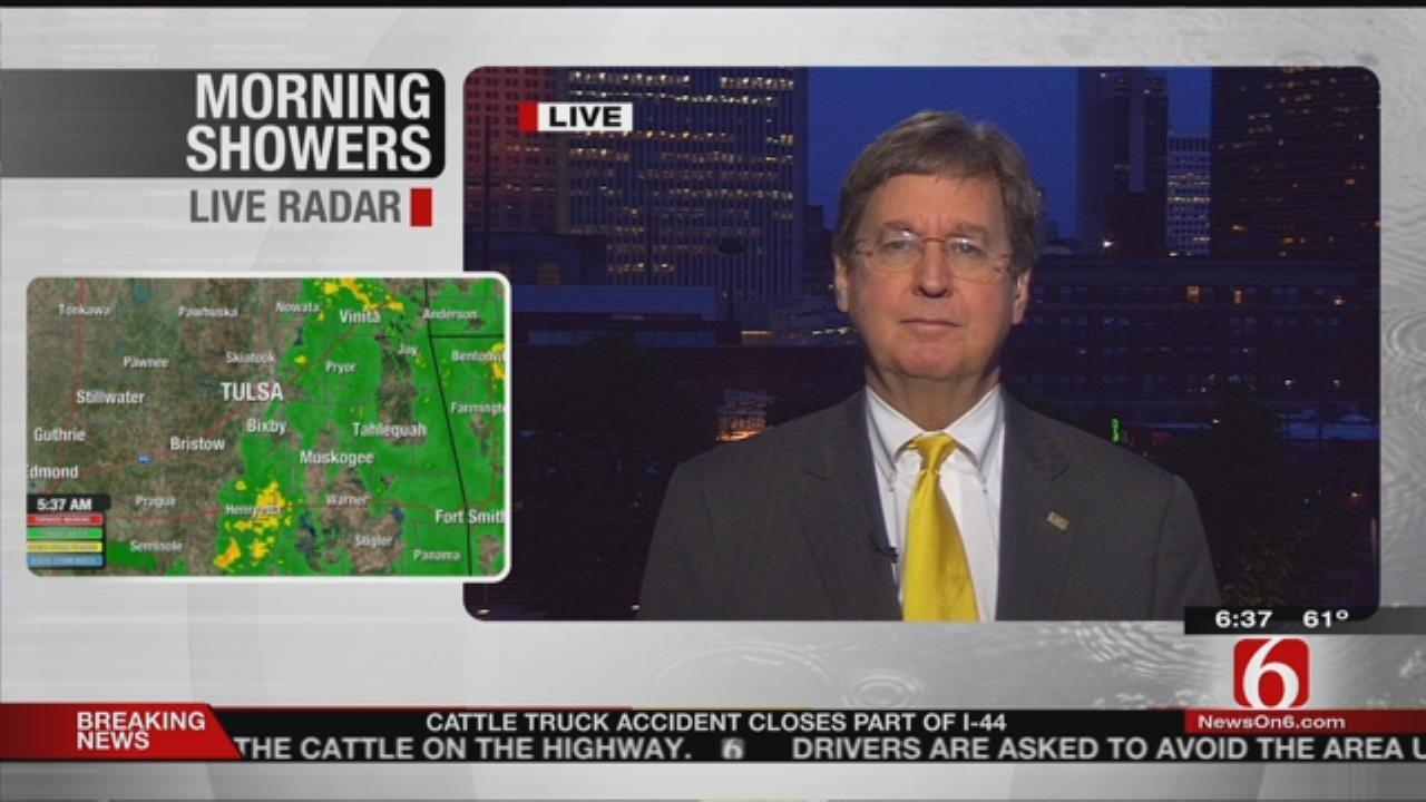 WATCH: Mayor Dewey Bartlett On Williams Companies Move