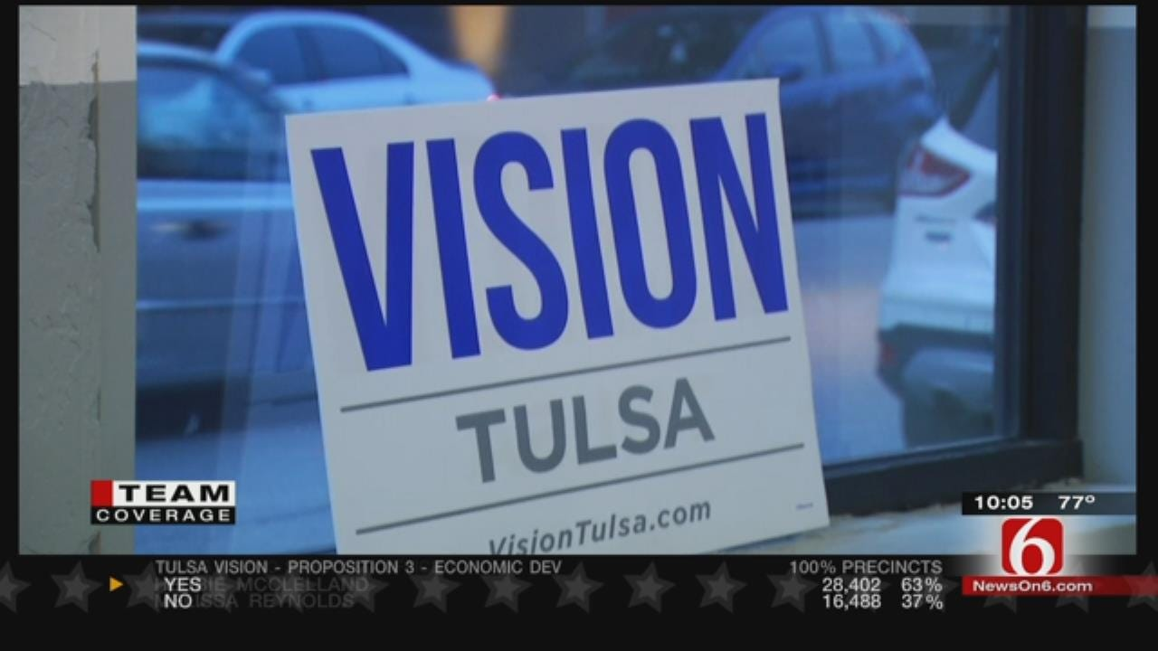 Tulsa County, Municipalities Approve All Vision Sales Tax Propositions