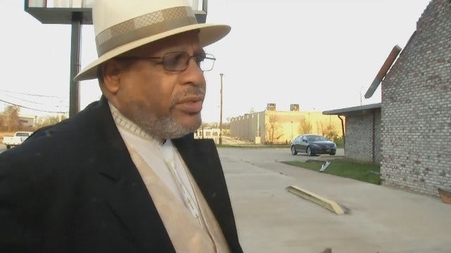 Pastor John Malcolm Phipps Jr. Describes The Moment The Tornado Hits The Church