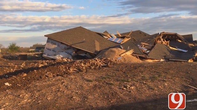 WEB EXTRA: Justin Dougherty Updates On Tornado Damage At Stone Canyon Addition