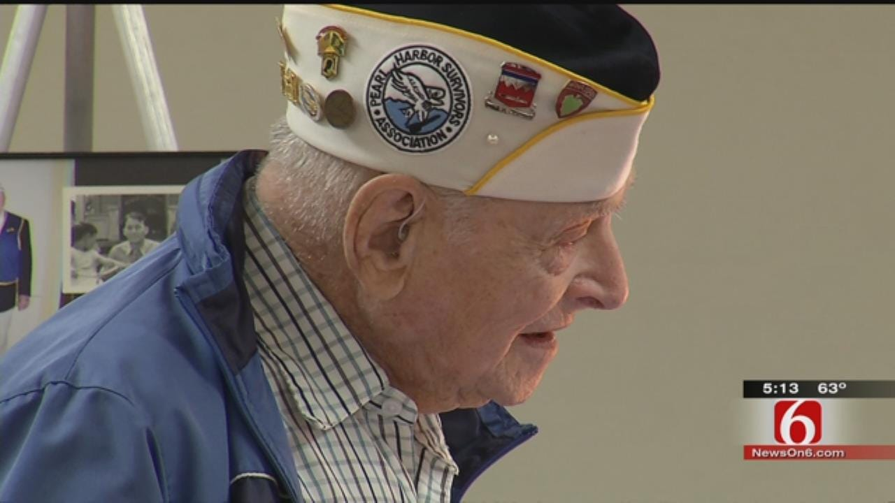 Oklahoma Veteran Recognized On 74th Anniversary Of Pearl Harbor Attack