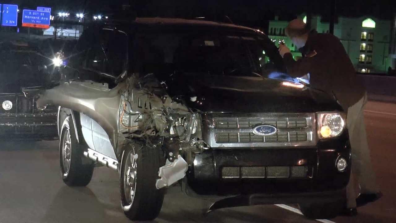 Man Hit, Killed On Interstate 44 In Tulsa