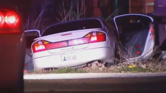 WEB EXTRA: Tulsa Police Make Arrests In Robbery, Car Theft