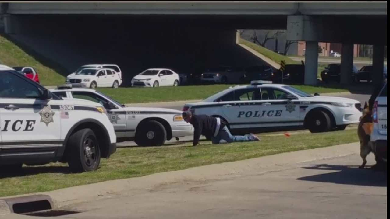 WEB EXTRA: Video From Jeremy Burnes At End Of Chase And Arrests