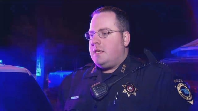 Sand Springs Police Officer Tim Freeman Talks About Chase, Arrest