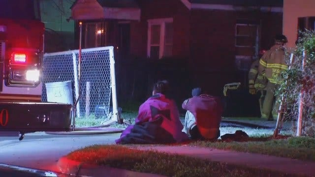 WEB EXTRA: Tulsa Home Damaged By Fire