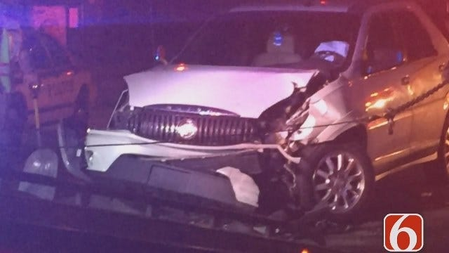 Gary Kruse: Two Arrested After Tulsa Crash
