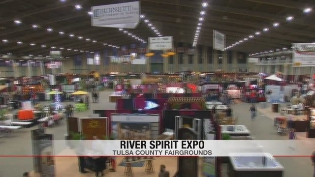 2016 Tulsa Home And Garden Show Underway At Tulsa Expo Square