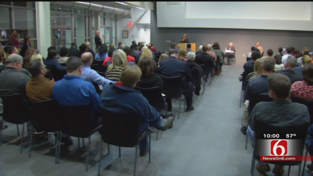 Tulsa County Sheriff Candidates Face Off At Forum