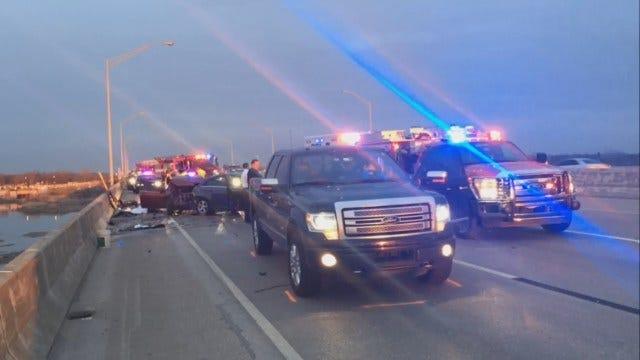 WEB EXTRA: Fatal Crash On I-44