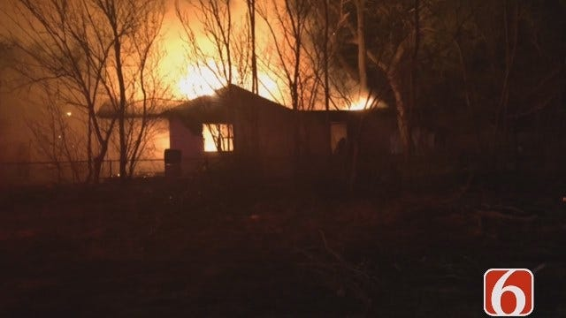 Gary Kruse: Tulsa Firefighters Called To Two Fires At Same House