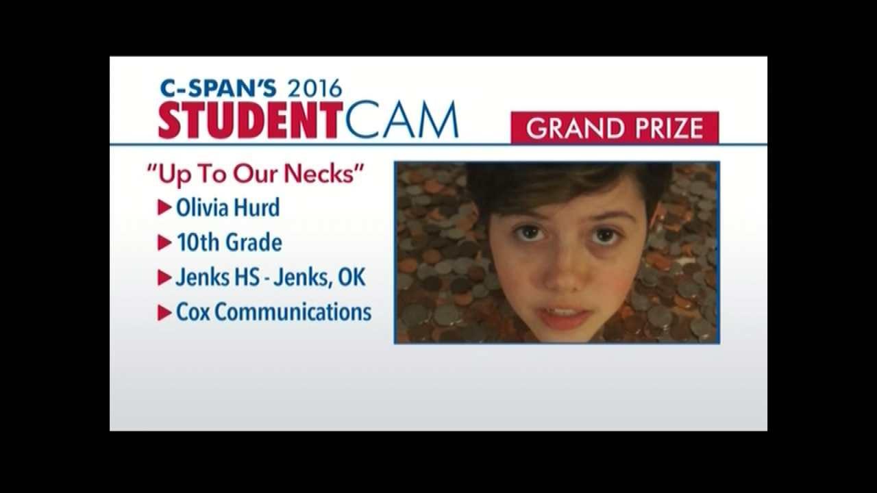 WATCH NOW: C-SPAN Announces Jenks Girl Wins Video Contest