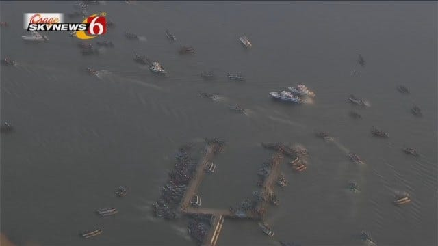 Osage SkyNews 6 HD Was Overhead For The Start Of 2016 Bassmaster Classic