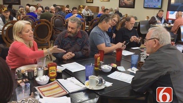 Tulsa City Councilors Meet Residents Over Coffee