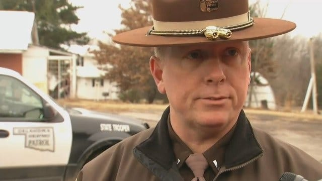 WEB EXTRA: Oklahoma Highway Patrol Lt. John Vincent Talks About Bank Robbery
