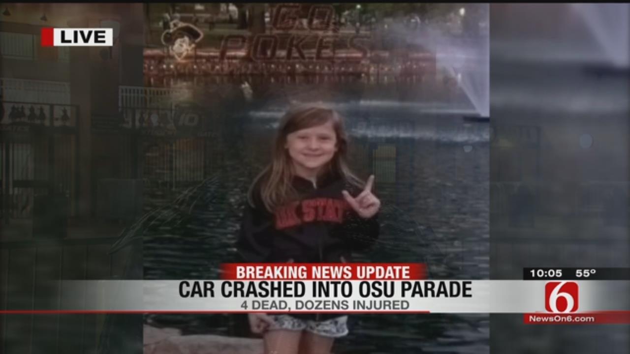 Skiatook Girl, Relatives Injured At OSU Homecoming Parade