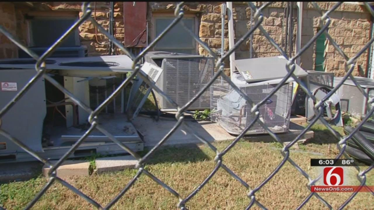 Air Conditioner Theft Leaves Tulsa Church With Thousands In Damages