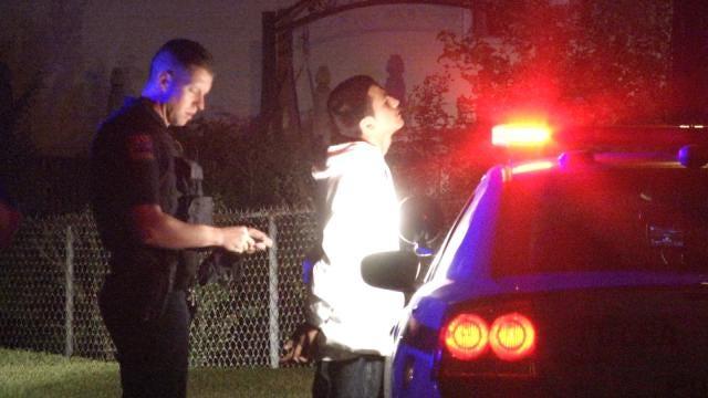 WEB EXTRA: 7 Teens Arrested After Tulsa Police Pursuit
