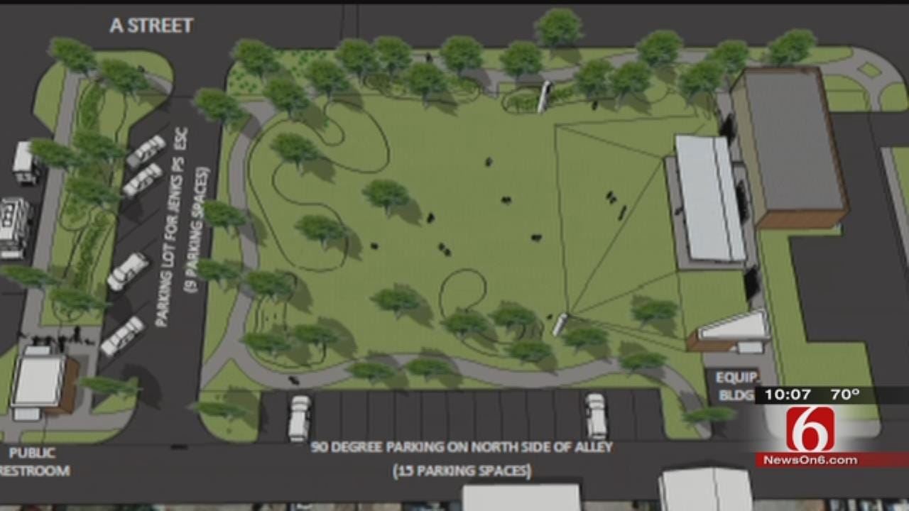 Million Dollar Park Coming To Jenks Main Street