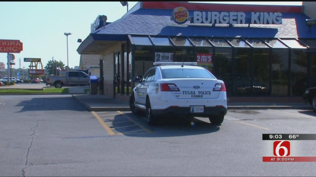 Tulsa Man Arrested For Staging Robbery For Burger King Employees