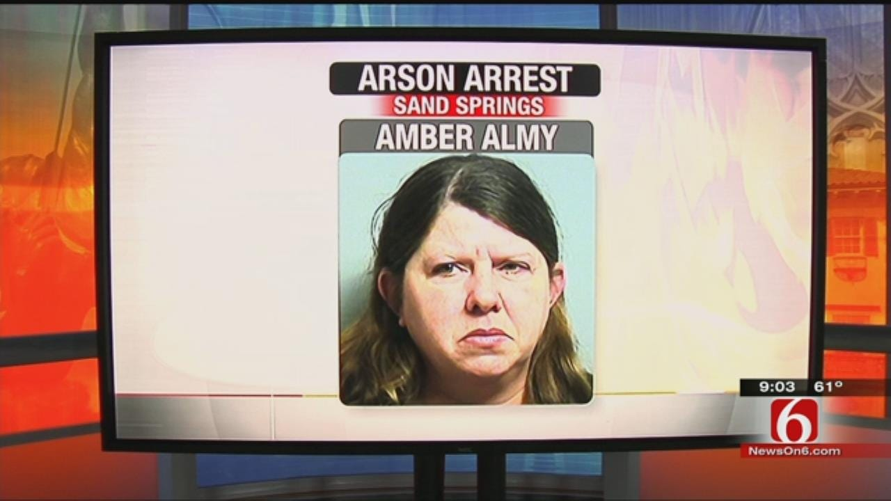 Sand Springs Woman Arrested For Lighting Fires