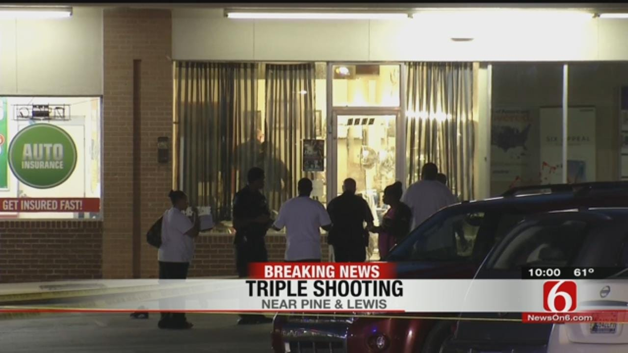 Police: Three Victims, Including 10-Year-Old, Shot Near Tulsa Shopping Center