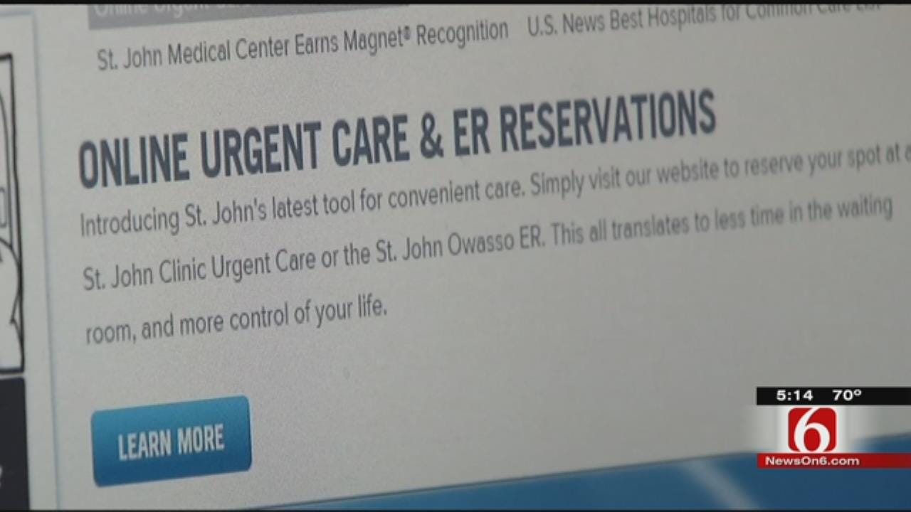 St. John Urgent Care Offering 'At Home Waiting Rooms'
