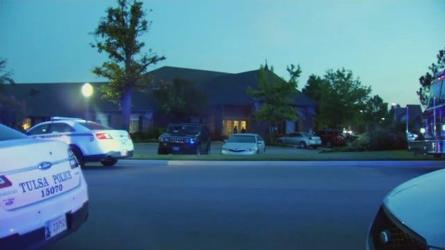 WEB EXTRA: Video From Outside Tulsa Assisted Living Center