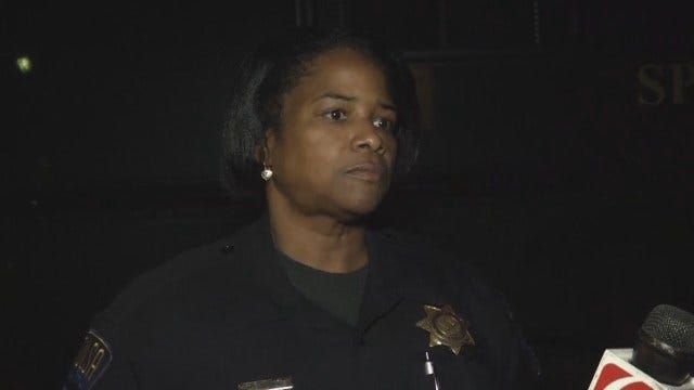 WEB EXTRA: TPD Officer On Standoff At Tulsa Apartments